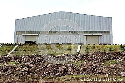 Fabrik-Halle