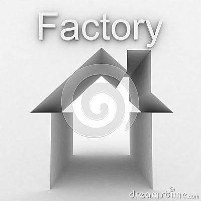 Fabryczny budynek