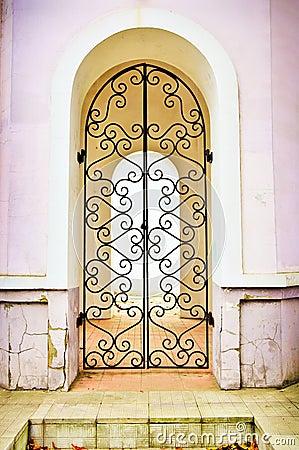 Facade an arch