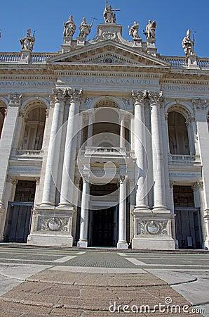 Facade of the Basilica of St. John Lateran