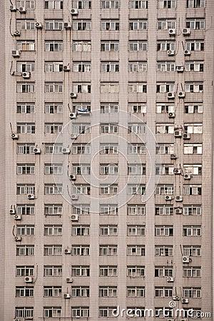 Facade of böock of flats