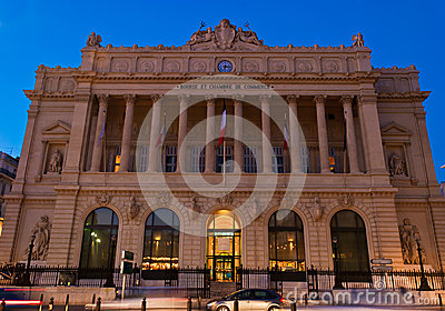 Marseille 39 s landmark stock images image 29856174 for Chambre de commerce de france
