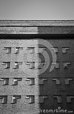 Facade of a building in Madrid