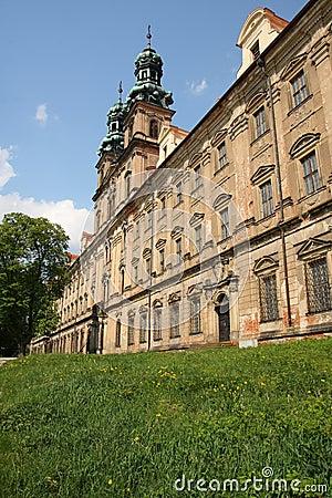 Facade of the cistercian monastery