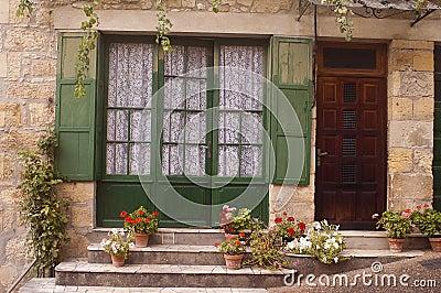 Facade Saint-Cyprien Dordogne