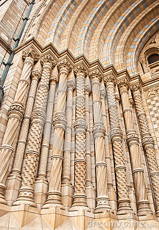 Facade of Natural History Museum