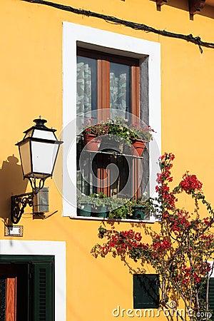 Free Facade Of A Mediterranean House Stock Image - 63784841