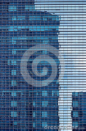 Free Facade Of Glass Building Stock Images - 51630944