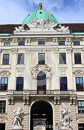 Free Facade Of Hofburg Palace In Vienna Stock Photos - 79905683