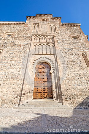 Free Facade Of Santiago Arrabal Church In Toledo City Stock Photos - 105533293