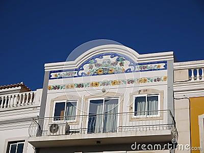 Facade of Portuguese building