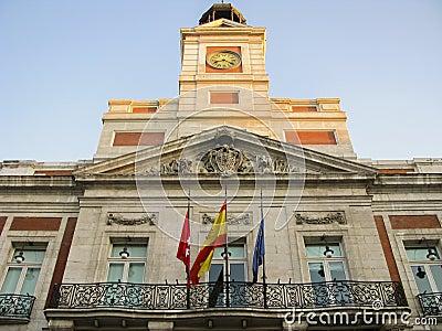 Facade in Puerta del sol
