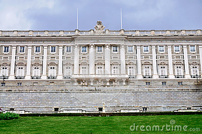 Facade of the Royal Palace, Madrid