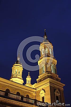 Facade of St. Ignatius church- San Francisco