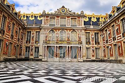 Facade of the Versailles