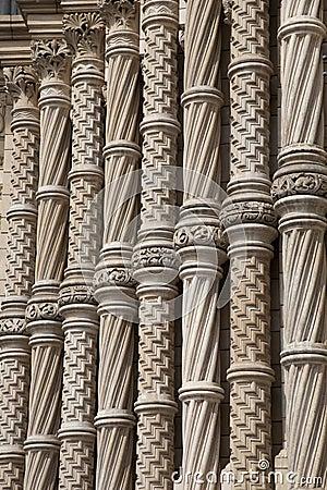 Facciata del museo nazionale di storia, Londra