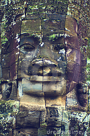 Face of Angkor Wat (Bayon Temple)