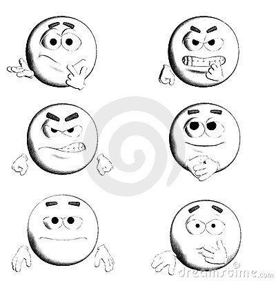 FACE - B&W Six Smiles III/III