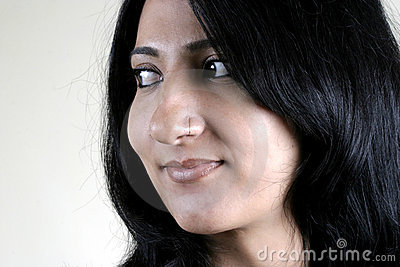 Face of Beautiful Indian Girl