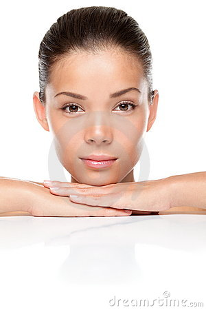Royalty Free Stock Images: Face beauty skin care. Image: 20466179