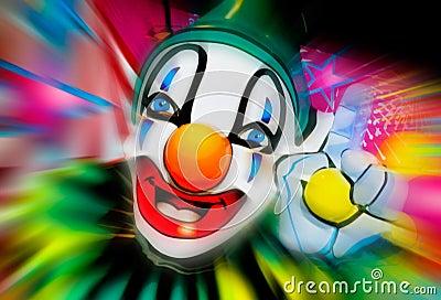 Face of a clown 2