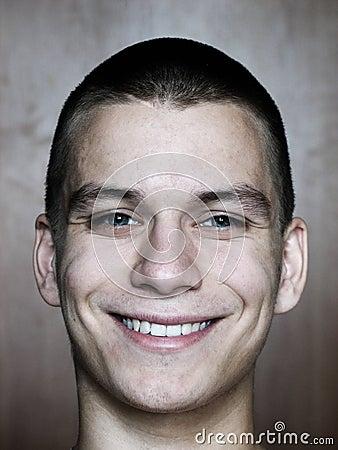 Face de sorriso