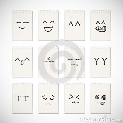 Face emotion drawing