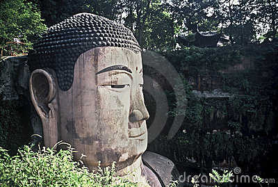 Face of the Grand Buddha