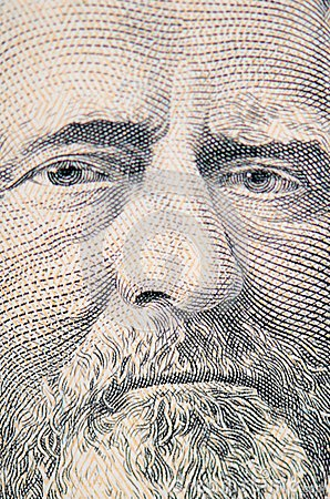 The face of Grant the dollar bill macro