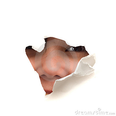 Face In A Hole