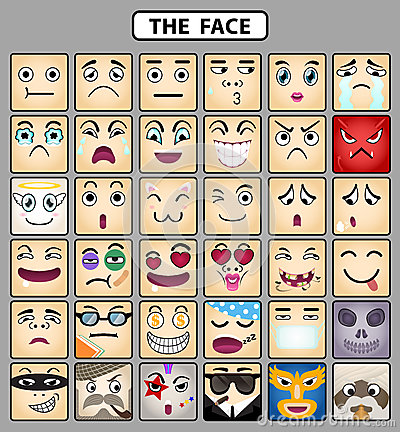 Face icons 1