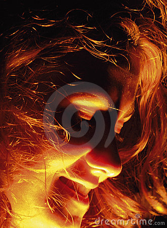 Free Face In Fire Stock Images - 480884