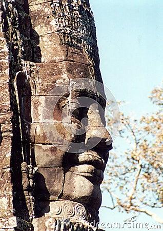 Face no templo