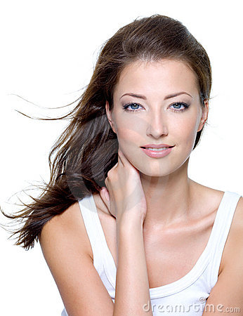 Free Face Of A Beautiful Young Woman Stock Images - 15426804