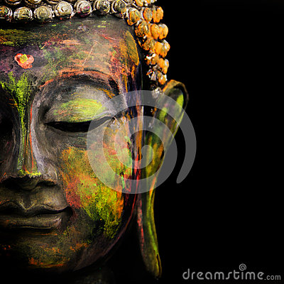 Free Face Of Buddha Royalty Free Stock Photos - 33961468