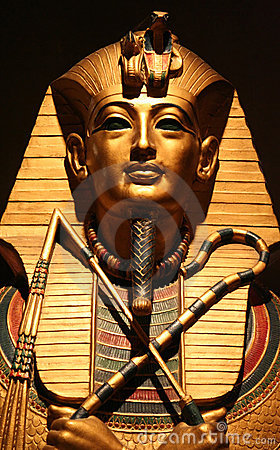 Free Face Of The Pharaoh Royalty Free Stock Image - 1211316