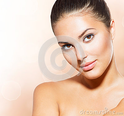 Free Face Of Young Woman Stock Photography - 32873232