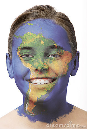 Face paint - South America