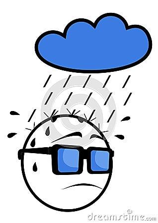 Face rain