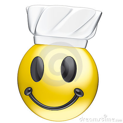 Face smile cook