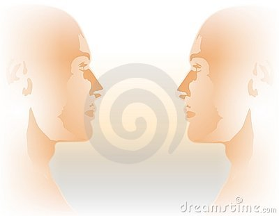 Face To Face Male Twin Profiles