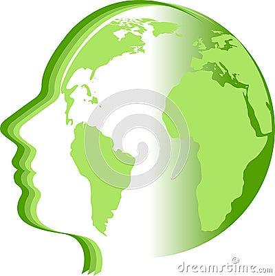 Face world logo