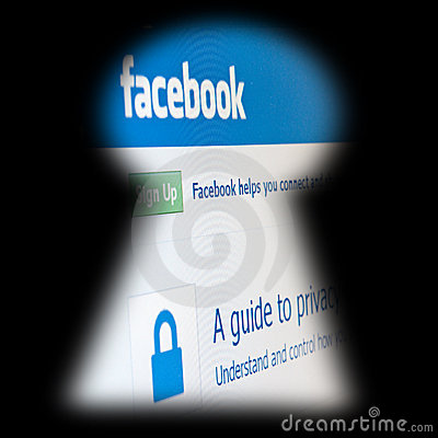 Facebook Editorial Stock Photo
