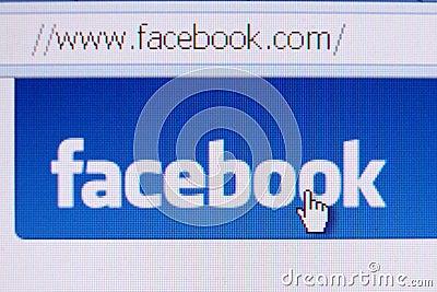 Facebook Homepage Editorial Image