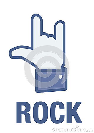 Facebook I Rock it! Editorial Photo
