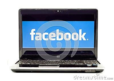 Facebook Logo Editorial Image