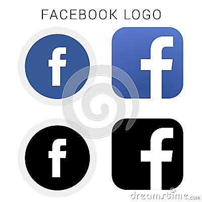 Free Facebook Logos Stock Photo - 137814950