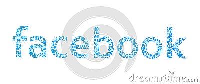Facebook Social Network icons Editorial Photography