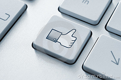 Facebook Thumb Up Like Button