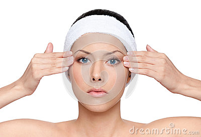 Facelift for a young pretty woman